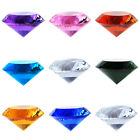 Crystal Diamond Shape Paperweight Glass Display Wedding Ornament Gift 150mm