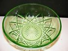 Hazel Atlas GREEN VASELINE Depression GLASS Diamond Arch 8