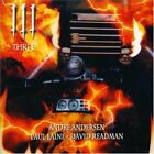 Andersen/Laine/Readman-Three (UK IMPORT) CD NEW