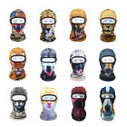 Cool Animal Painting Outdoor Ski Masks Cyling Beanies Winter Windproof Face Hats