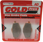 Front Disc Brake Pads for MBK XC 125 Flame 2003 125cc  By GOLDfren