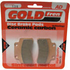 Front Disc Brake Pads for Keeway F-Act 125 2010 125cc  By GOLDfren