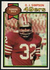 1979 Topps Football - Pick A Player - Cards 1-200