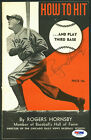 Rogers Hornsby Cards, Rookie Card and Autographed Memorabilia Guide 37