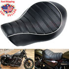 Smooth Wide Front Rider Driver Solo Seat For Harley Sportster XL 883 1200 04 15