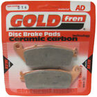 Rear Disc Brake Pads for Kymco People S 250i 2008 251cc  By GOLDfren