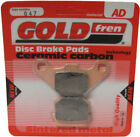 Front Disc Brake Pads for Adly Silver Fox 50 2009 50cc  By GOLDfren