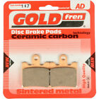 Front Disc Brake Pads for Daelim SL 125 Otello Fi 2008 125cc  By GOLDfren