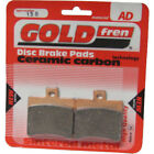 Rear Disc Brake Pads for Aprilia Scarabeo 400 Light 2008 400cc  By GOLDfren