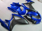 Blue w/ Matte Black Fairing Injection for 2006-2007 Suzuki GSXR GSX-R 600 750