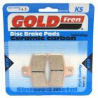 Rear Disc Brake Pads for Gas Gas EC50 Rookie 2003 50cc  By GOLDfren