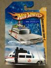 Hot Wheels Ghostbusters Ecto 1 Snowflake Target Exclusive Car Chase