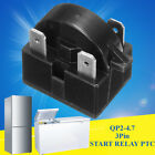 QP2-4.7 3 Pin Refrigerator Start Relay PTC for 4.7 Ohm Vissani Danby Compressor