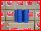 Lot Of 32 Rolls 1 1 2 X 60 Yrds Blue Painters Masking Tape MADE IN USA BLEMS