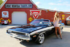 1971 Dodge Challenger 1971 Dodge Challenger Convertible 340 Triple Black Sure Grip Rear Power Disc PS