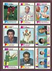 LOT OF (485) DIFFERENT 1973 TOPPS FOOTBALL CARDS (VG to VG-EX) *GMCARDS*