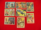 1966 TOPPS BATMAN TRADING CARDS 8 Card Lot National Periodical Publications