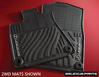 Lexus GS350 2013 2018 AWD ALL WHEEL DRIVE 4pc OEM ALL WEATHER FLOOR MATS