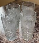 4 Flat Iced Tea 16 oz Tumblers Wexford by ANCHOR HOCKING