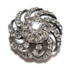 PASTE STONE BROOCH PIN (A4)