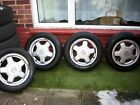 Volvo 740 TURBO Alloy Wheels and Tyres Beautiful and good condition