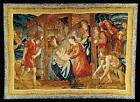 TAPESTRY DAVID MICHAEL TAPESTRIES THE NATIVITY 59X83 WOOL LINEN COTTON V
