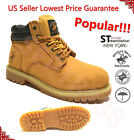 BH Polo Winter Snow Work Boots Mens Work Shoes Genuine Leather Waterproof 2016