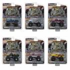 GREENLIGHT 49010 KINGS OF CRUNCH SERIES 1 SET OF 6 MONSTER TRUCKS DIECAST 164