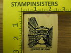 Rubber Stamp Bridge of Sighs Venice Italy Tin Can Mail Stampinsisters 288