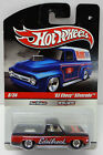 83 CHEVY SILVERADO  2010 HOT WHEELS SLICK RIDES  EDELBROCK BLACK RED WHITE