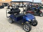 2018 E Z GO GAS GOLF CART NEW WITH NEW 14 inch custom wheels and 2 inch lift