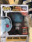 Funko pop Grand Admiral Thrawn. Star Wars Galactic Celebration Exclusive #170