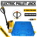 15T 3300LBS Electric Pallet Jack Warehouse Lithium Battery Power