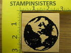 Rubber Stamp Planet Earth by Club Scrap Stampinsisters 1063