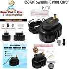 Fastest Electric Swimming Pool Winter Cover Drain Pump 600GPH 110V With 16 Hose