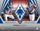 2018 PANINI PHOENIX FOOTBALL HOBBY BOX - BRAND NEW - FACTORY SEALED (M)