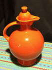 Vintage Fiesta Fiestaware Carafe with lid in RadioActive Red-EXCELLENT Condition