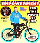 66cc 80cc 2 STROKE MOTORIZED BIKE KIT AND 26 Bicycle And UPGRADE COMPLETE DIY