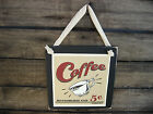 Bottomless Coffee Hanging Wall Sign Plaque Primitive Rustic Lodge Cabin Decor