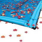 20 x 40 Ft Rectangle InGround Swimming Pool Winter Cover Leaf Net