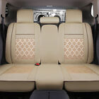 5 Seats Car Covers Pu Leathermesh Car Frontrear Fit For Honda Accord 2000-2015