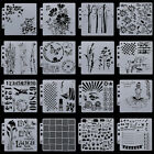 DIY Layering Embossing Stencil Template For Wall Painting Scrapbooking Stamp