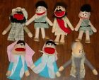 Lot of 7 Professional Puppet Christmas Nativity Production Kids Bible Church VBS