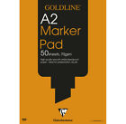 Clairefontaine Goldline Artists Marker Pads 70gsm Bleedproof Paper 50 Sheets