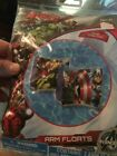 THE AVENGERS Swimming ARM FLOATS SET of 2 BRAND NEW