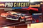 Hot Wheels Vintage PRO CIRCUIT SPEEDWAY Track Set With Cars