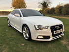 2013 AUDI A5 30 TDI 245 BHP QUATTRO S LINE DIESEL S TRONIC AUTO PADDLE SHIFTERS