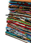 Quilters Cotton Fabric Scraps Great for Masks Sold by the 3lb Bag M49203