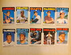1986 Topps Baseball Traded, 10 Card Lot, Barry Bonds Rookie