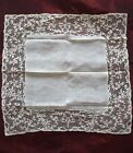 Gorgeous XIX Century HANDKERCHIEF with 3 1/2